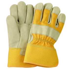 Illinois Glove Co 463KM Glove Leather Cwhde Suede Kid M