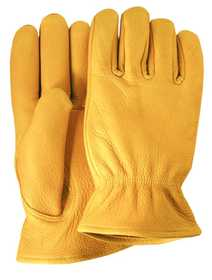 Illinois Glove Co 57M Glove Elkskin Inlined Med