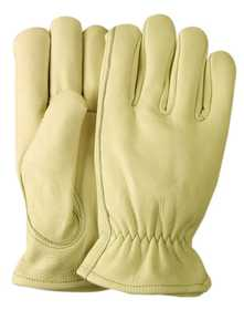 Illinois Glove Co 62LSU Driver Premium Grain Cowhide W/Logo Lrg