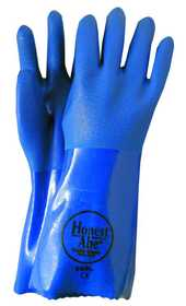 Illinois Glove Co 660L Pvc Triple Dip Blue 12 in Gaunt Lg