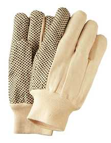 Illinois Glove Co 813L Glove Pvc Dot Cotton Kw Lrg