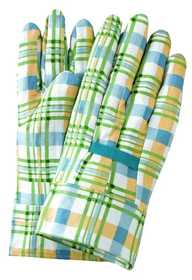 Illinois Glove Co 920 Glove Gingham Plaid 100% Cotton