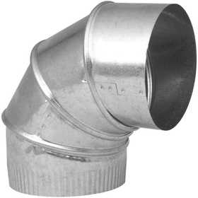 Imperial GV0296-C 6 in Galvanized Adjustable 90&#176 Elbow