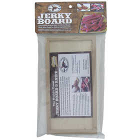 Hi Mountain Jerky 00052 Jerky Board Hi Mountain Jerky Jerky Board W/Insert Is An All-Hardwood Jerky Board That Is Conveniently Designed, To Give You Two