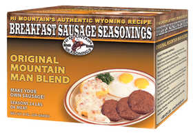 Hi Mountain Jerky 00054 Original Mountain Man Breakfast Sausage Kit
