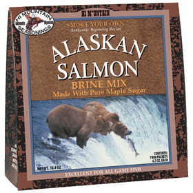 Hi Mountain Jerky 00006 Brine Alaskan Salmon Mix