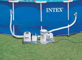 Intex Recreation 54601EG Saltwater System Krystal Clear
