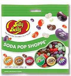 JELLY BELLY CANDY CO 66834 Soda Pop Shoppe Jelly Beans 3.5 oz Bag