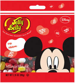 JELLY BELLY CANDY CO 66305 Mickey Mouse Jelly Beans 2.8 Oz Bag