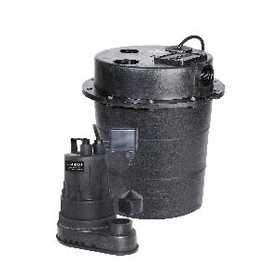 Red Lion SPS25 Water Removal System 1/4hp & 5 Gal Basin