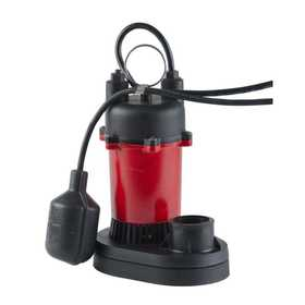 Red Lion RL-SP25T Pump Sump With Tethered Switch 1/4hp