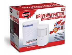 U.S. Patrol TV3731 Driveway Patrol Infrared Wireless Alert System