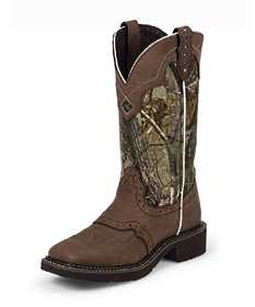 Justin Boots L9609 Women's Aged Bark Gypsy Boots 10b
