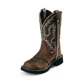 JUSTIN BOOTS L9909 Women's Brown Gypsy Boots 8.5b