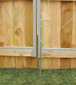 JEWETT-CAMERON LUMBER UL301 Drop Rod For Double Drive Gate