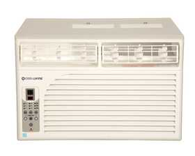 Cool Living CLYW-35C1AL09AC Electronic Window Air Conditioner 12,000 Btu