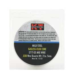 K-T Industries Inc 1-3153 Welding Wire Gasless Mig Wire .030 2lb