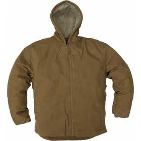 Key Industries 334.28 Premium Berber Lined Hooded Jacket Saddle Medium Tall
