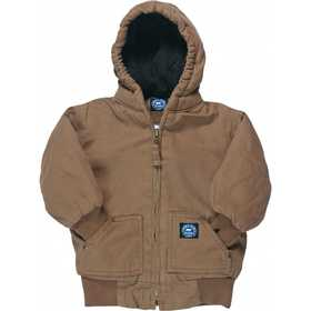 Key Industries 358.28 Toddler's Insulated Fleece Lined Jacket, Saddle 2t