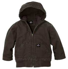 Key Industries 359.27 Youth Insulated Fleece Lined Jacket Bark Xs