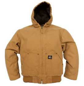 Key Industries 359.28 Youth Insulated Fleece Lined Jacket Saddle S