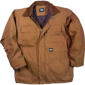Key Industries 378.29 Insulated Duck Chore Coat, Saddle XLarge Regular
