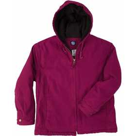 Key Industries 390.69 Premium Insulated Fleece Lined Hooded Jacket, Raspberry Large