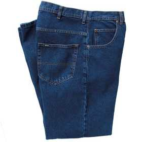 Key Industries 4876.45 5-Pocket Denim Jean, Indigo Blue 38x36