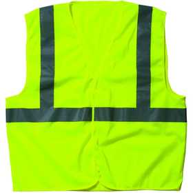 Key Industries 98.39 Vest Mens Ba Mesh Hi Vis 2XLarge Regular