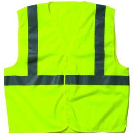 Key Industries 88.39 ANSI Class 3 Hi-Visibility Mesh Vest, Yellow X-Large Regular