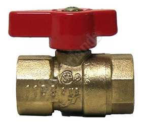 Waxman 402450 Valve Ball Gas 1/2 in