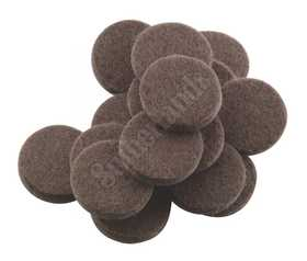 Waxman 4728595N Felt Pad 3/4 Heavy Duty Brown
