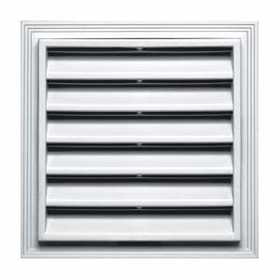 Builders Edge 120051212123 Vent Square 12x12 White Cap