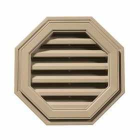 Builders Edge 120012222069 Vent Octagon 22 in Tan