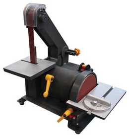 King Tools & Equipment 0389-0 1x30 In Belt Sander With 5 In Disc