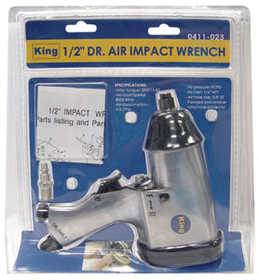 King Tools & Equipment 0411-0 1/2 in Air Impact Wrench