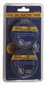 King Tools & Equipment 0664-0 Tape Electrical 3/4x60 ft 2pc