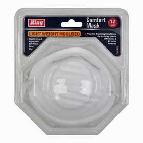 King Tools & Equipment 1545-0 Dust Mask 12pc