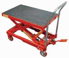 King Tools & Equipment 1688-0 Hydraulic Lift Table