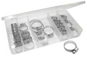King Tools & Equipment 3180-0 Clamp Set Hose 26pc