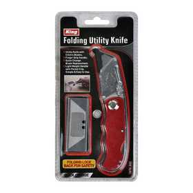 King Tools & Equipment 3570-0 Utility Knife With Blade