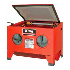 King Tools & Equipment 4004-0 Cabinet Sandblast/Bead Blast