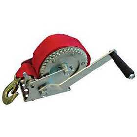 King Tools & Equipment 1614A-0 Boat Winch With Strap 1200lb