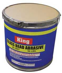 King Tools & Equipment 4012-0 Abrasive Bead Glass 80grit 50#