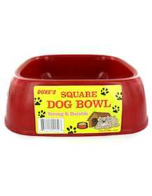 KOLE IMPORTS DI399 Square Dog Bowl Food/Water