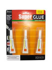 KOLE IMPORTS MP054 SUPER GLUE 3PK