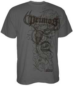 Primos Hunting 53585 Primos Hunting Jumbo Print T-Shirt, Charcoal Gray, Medium