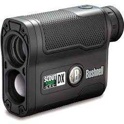Bushnell Outdoor 202355 Bushnell Scout Dx 1000 Arc 6 x 21 Black Laser Rangefinder