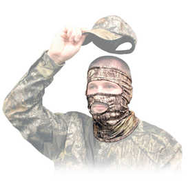 Primos Hunting 6737 Stretch Fit 3/4 Mask