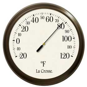 La Crosse 104-108 8 in Dial Thermometer